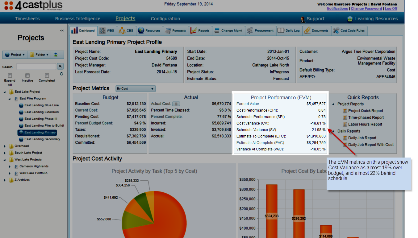 project cost management software